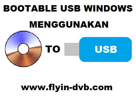 Cara Membuat Bootable USB Windows Menggunakan ISO To USB