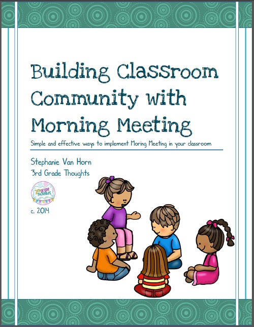 Starting our day with morning meeting 3rd grade thoughts update my new improved morning meeting packet description can be found here m4hsunfo Choice Image