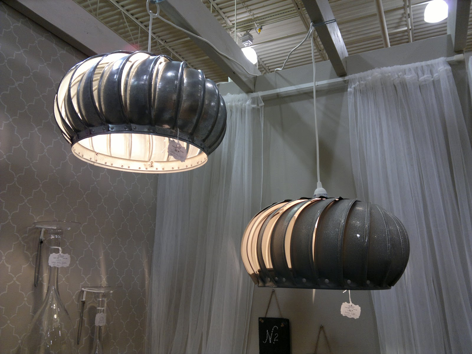 Industrial Chic Lighting Compressing Three Dimensions Down To Two Industrial Chic