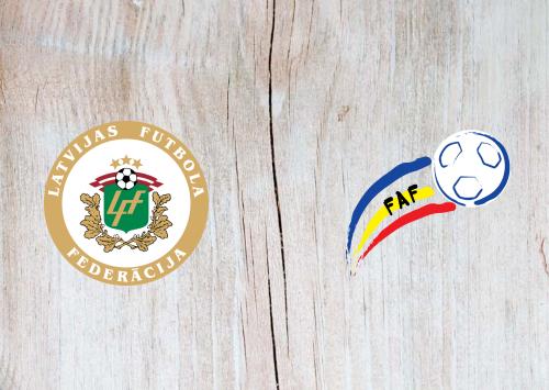 Latvia vs Andorra - Highlights 03 September 2020