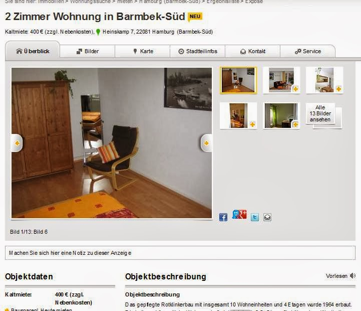 Wohnung Barmbek