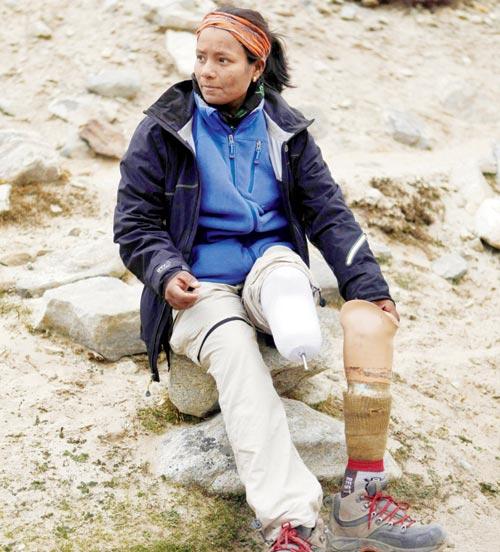 Arunima Sinha -  The Woman Atop the Mountain