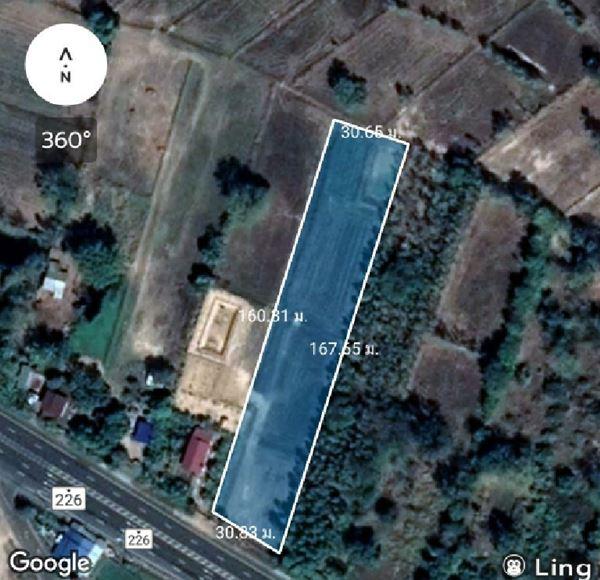 ขายที่ดินบุรีรัมย์ ติดถนน 4 เลน เส้นบุรีรัมย์-ลำปลายมาศ ห่างบจก.ซีพี 800 ม.