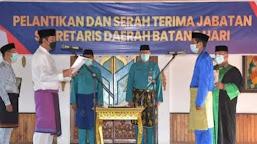 Usai Diambil Sumpah, M. Azan Resmi Duduki Jabatan Sekda Batanghari