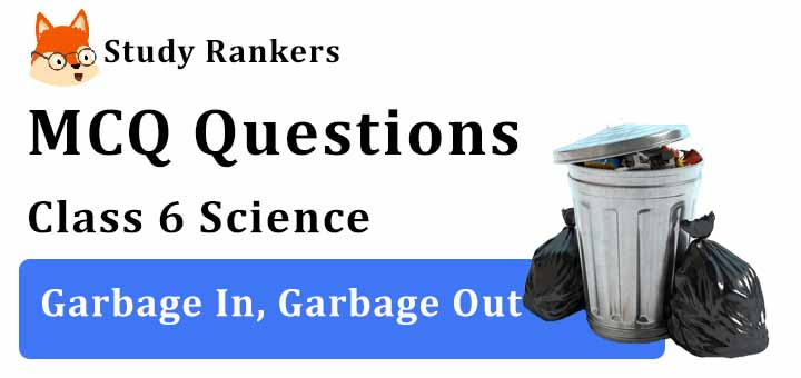 MCQ Questions for Class 6 Science: Ch 16 Garbage In, Garbage Out