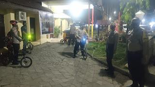 Jaga Kamtibmas Pilkada, Kapolres Pelabuhan Gencar Patroli Gunakan Sepeda