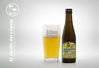 Saison Dupont Biologique, una cerveza belga con levadura especial.