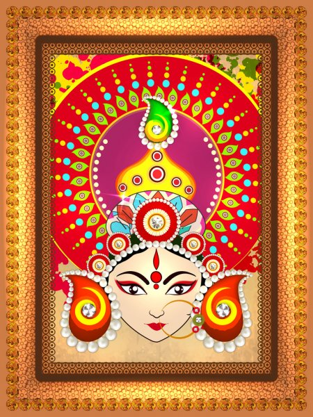Maa Durga Photo Gallery Wallpaper Free Download HD Pics. and Best Maa Durga Images, Wallpapers, Pics For Whatsapp Status and Facebook