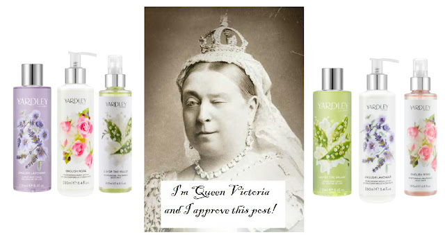 Fragrant Friday - Yardley London English Rose, English Lavender and Lily of the Valley