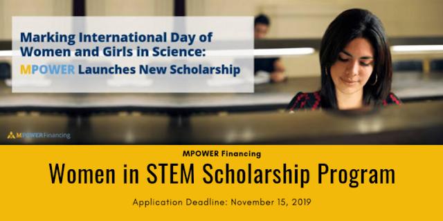 برنامج Women in STEM للطلاب الدوليين للدراسة في كندا أو الولايات المتحدة الأمريكية
