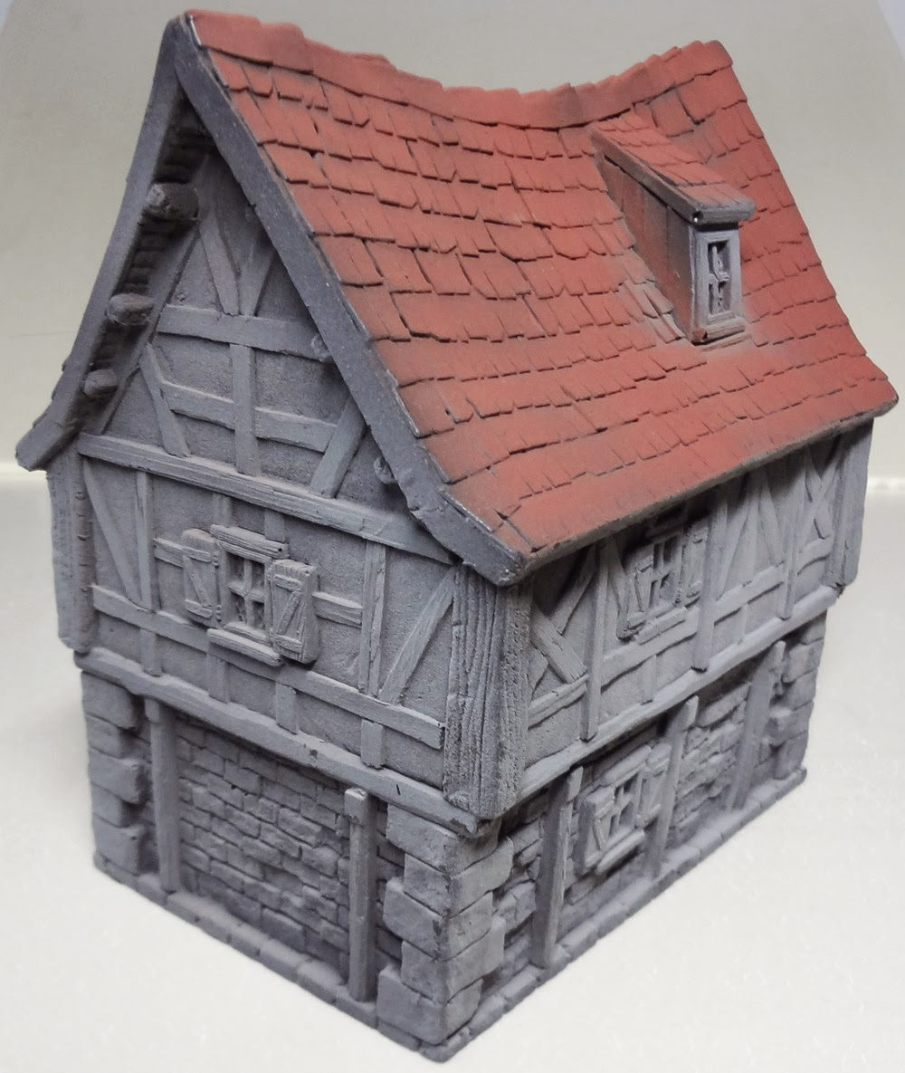 Cianty's Tabletop Wargames Blog: Broom Binder House From