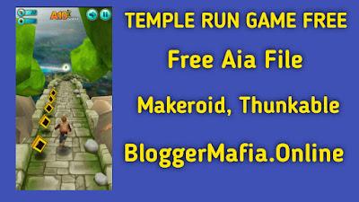 Temple Run Free Game App Aia File Download Makeroid, Thunkable - Blogger Mafia