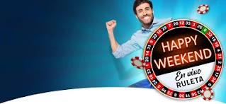 Luckia 5 euros cada día del finde 9-10 enero 2021