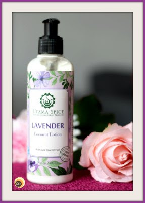 Utama Spice Coconut Lavender Body Lotion, utama spice website review