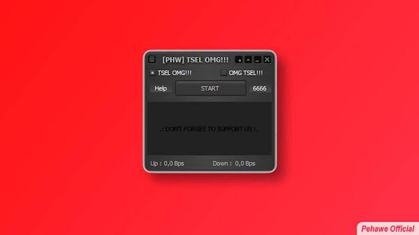 [PHW] Inject Telkomsel OMG Work Terbaru