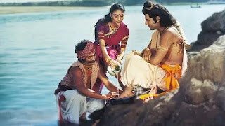 Kevat scene in tv show 'ramayan' interesting story by sunil lahri