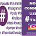 Most Commonly used Hashtags on Instagram