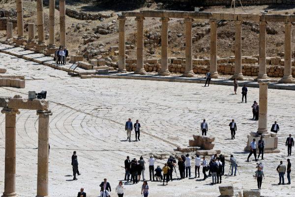Varios turistas, entre ellos tres españolas, apuñalados en las ruinas de Jerash en Jordania