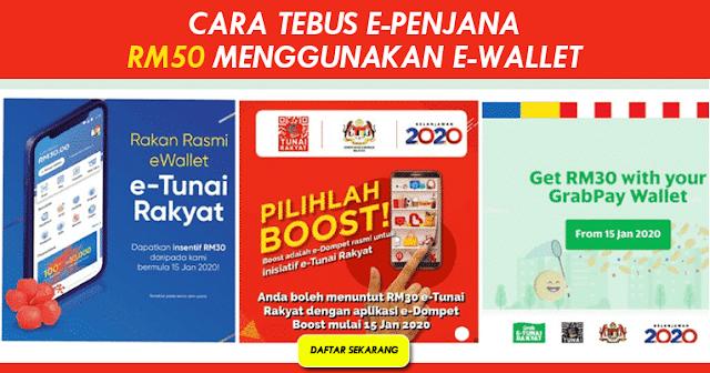 CARA TERBUS RM50 TOUCHNGO GRABPAY BOOST