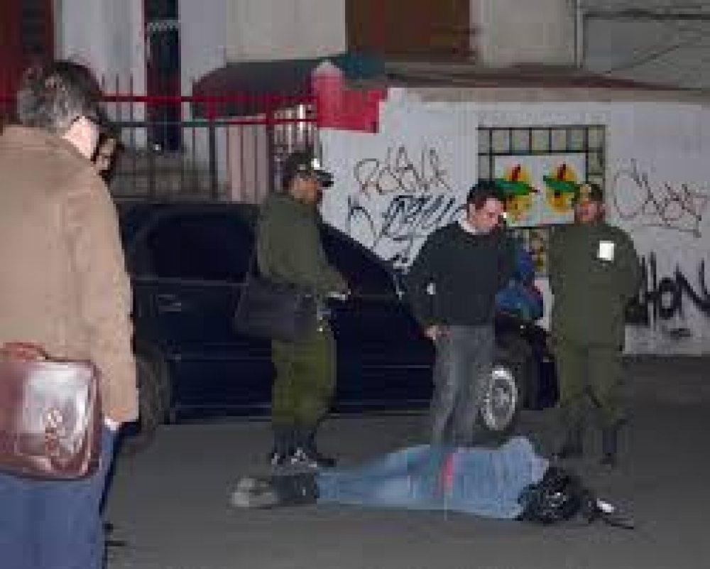 Un momento en la reconstrucción de hechos de la fatídica noche del 19 de agosto de 2015 / EL DIARIO