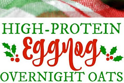 High-Protein Eggnog Overnight Oats