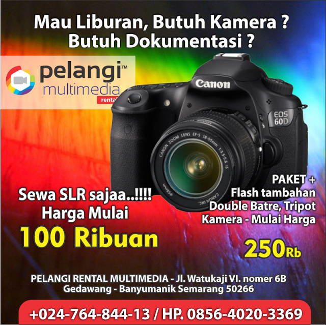 HP. 0856-4020-3369 / Tips Menyewa Kamera