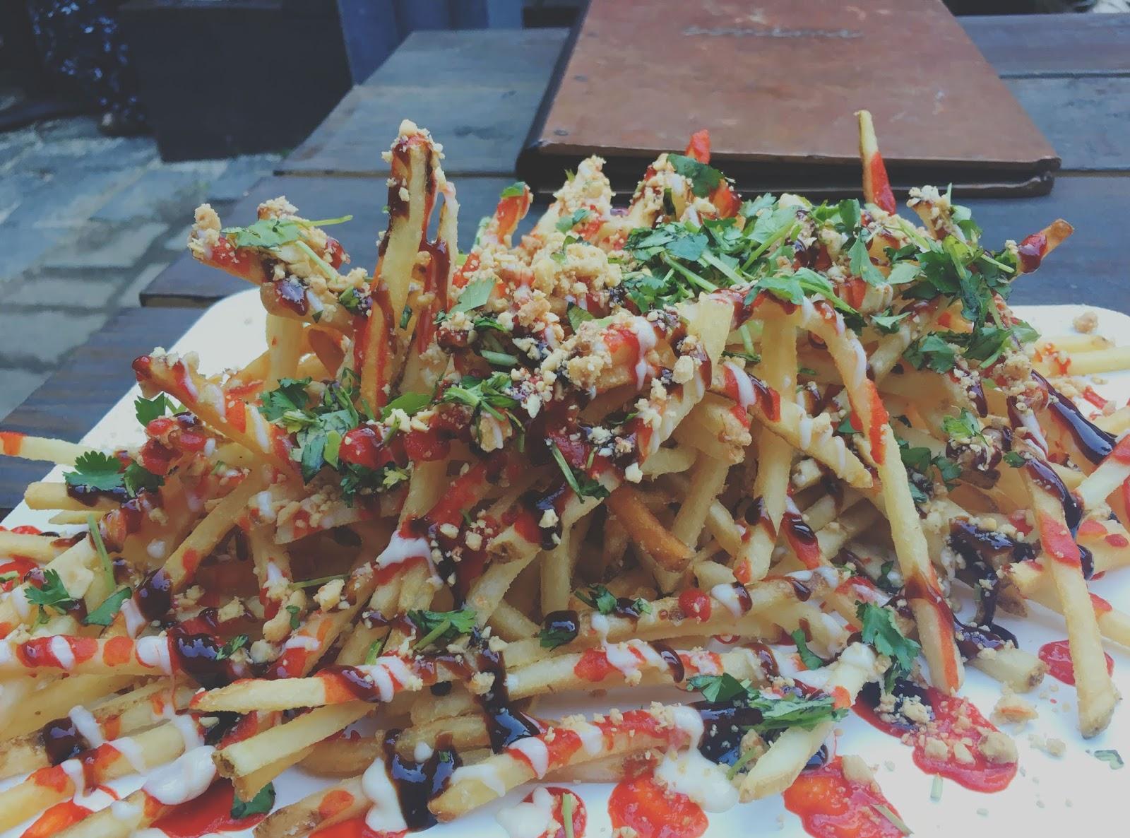 Vietnamese fries at Boheme - a restaurant in Houston, Texas