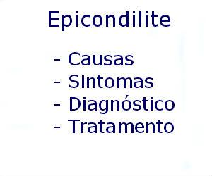 Epicondilite causas sintomas diagnóstico tratamento prevenção riscos complicações