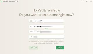 Icecream Password Manager install