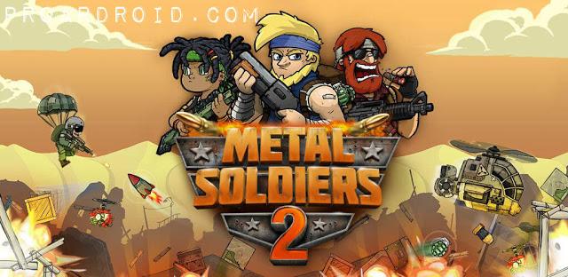 تحميل لعبة الاثارة والاكشن Metal Soldiers 2 النسخة المهكرة