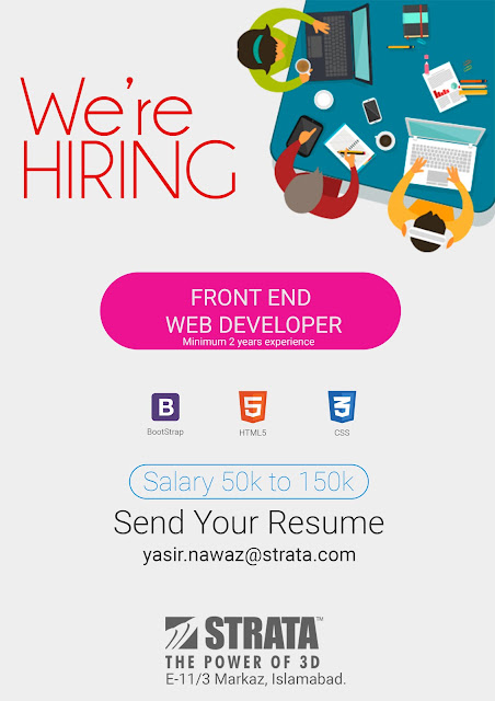 Job Openings at Strata - Front End Web Developer