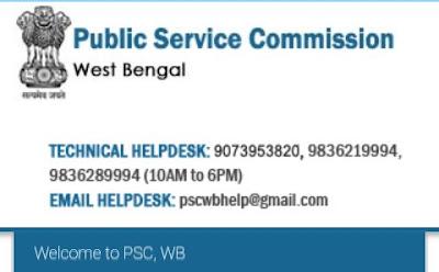 PSC WB Job