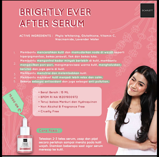 Brightly Serum Scarlett Whitening