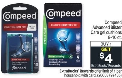 FREE Compeed Blister Care CVS Deals 9/5-9/11