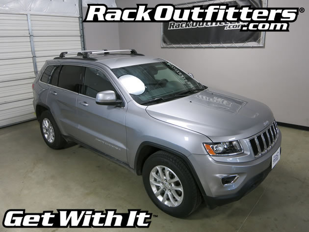 Rack Outfitters Jeep Grand Cherokee Whispbar Silver Flush