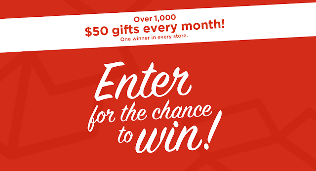 Kohl's is giving away tons of Kohl's cash and other great prizes each and every month! Enter each month for your chance to get rewarded every day!