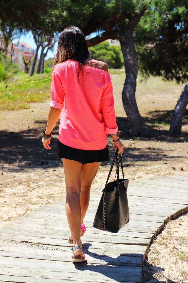 Fluor - Streetstyle - tendencias primavera 2015 - Guardamar del Segura- Fashion blogger - Buffalo London