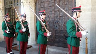 Cambio de guardia de San Marino.