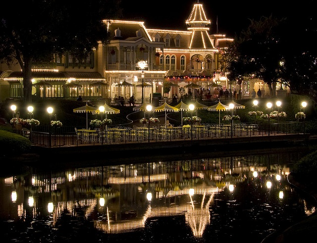 Restaurante The Plaza no Disney Magic Kingdom