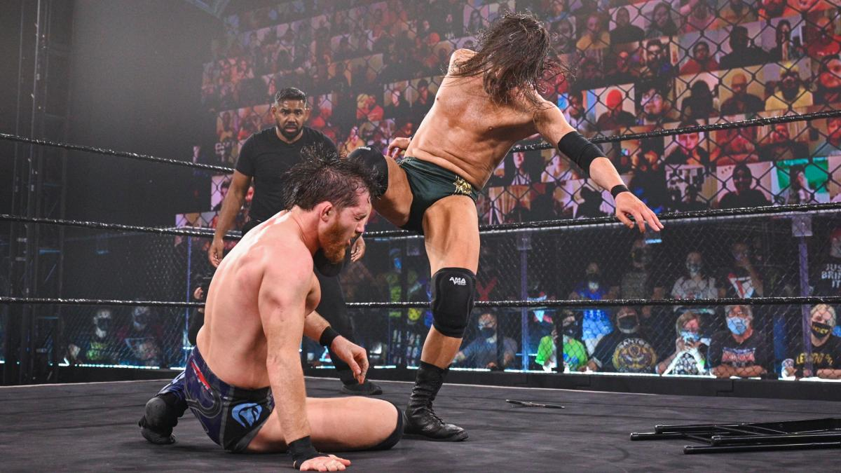 Adam Cole and Kyle O'Reilly on NXT Takeover: Stand and Deliver