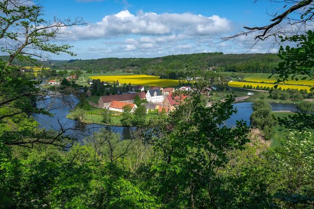 Lutherweg von Leisnig nach Döbeln - Wandern in Sachsen - Region Leipzig - Burg Mildenstein - Kloster Buch - Wanderung 11