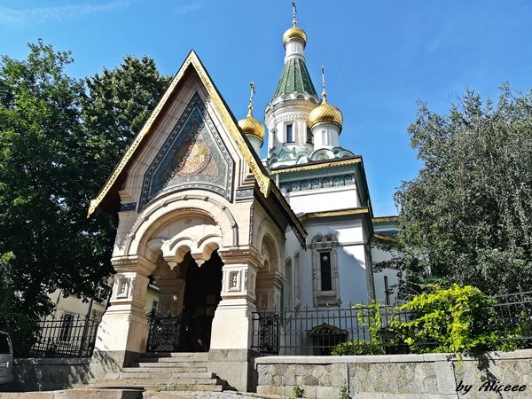 Russian-church-Sofia-Bulgaria