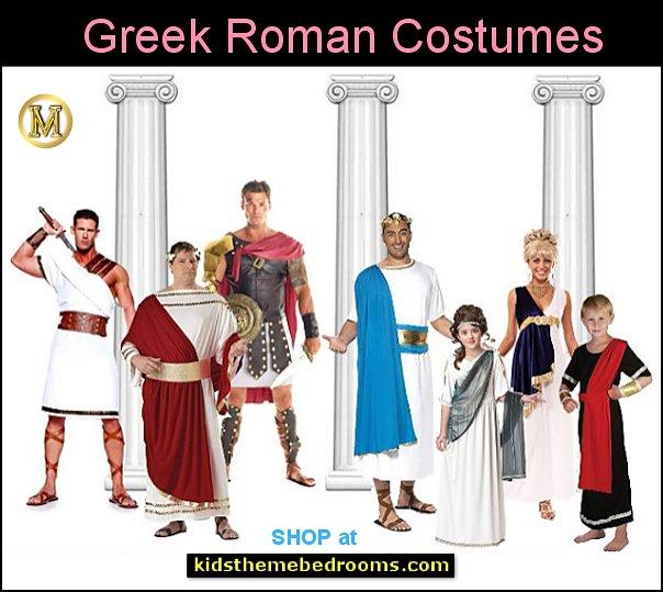 Greek Roman costumes Roman Gladiator Soldier Costume - Roman Princess - Caesar Costume  Halloween Costumes party Costumes