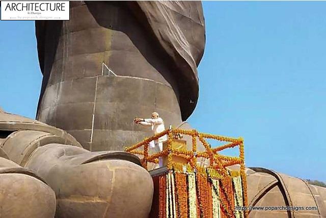 Statue of Unity Modi inauguration