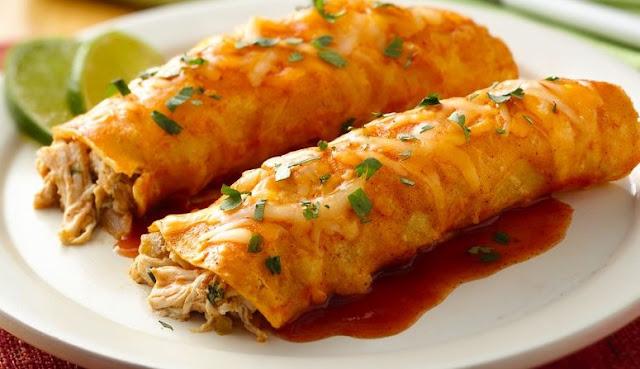 Chicken Enchiladas #chicken #dinner