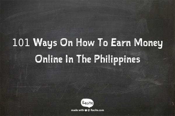Write for money online