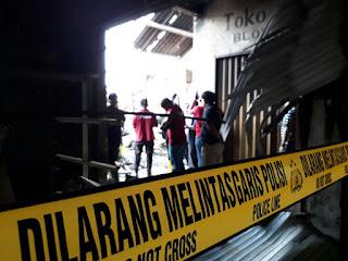 Puslabfor Polri Terjun Langsung Lakukan Investigasi di pasar Gombong