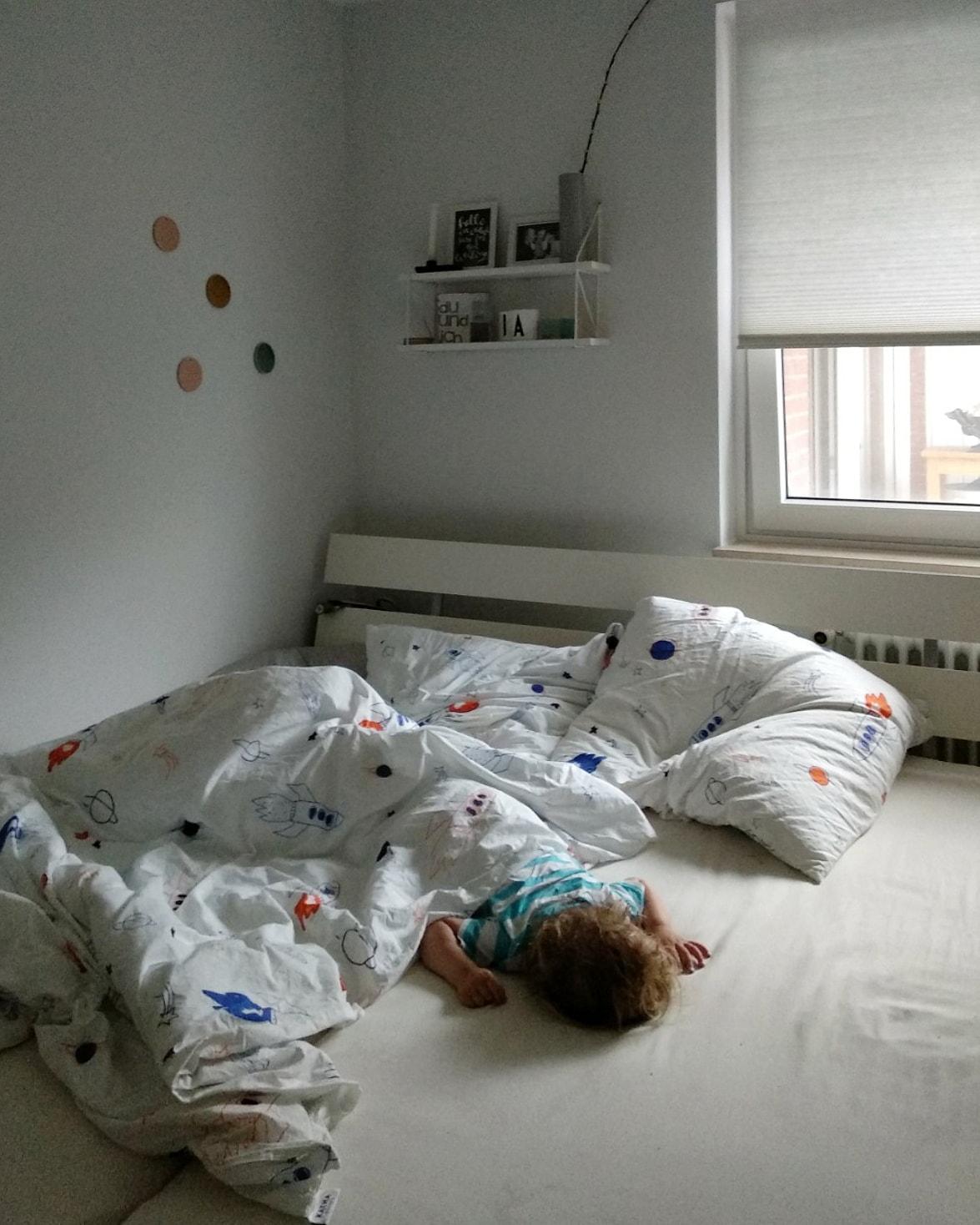 Wie zwei Familienbetten uns das Leben erleichtern