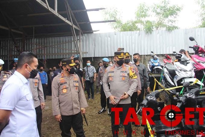 Jual Motor Tanpa Surat Sah, 15 Container dan Sembilan Pelaku Berhasil diungkap Polres Pati Jateng