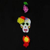 http://www.ohohdeco.com/2015/10/diy-calavera-skull-decoration.html